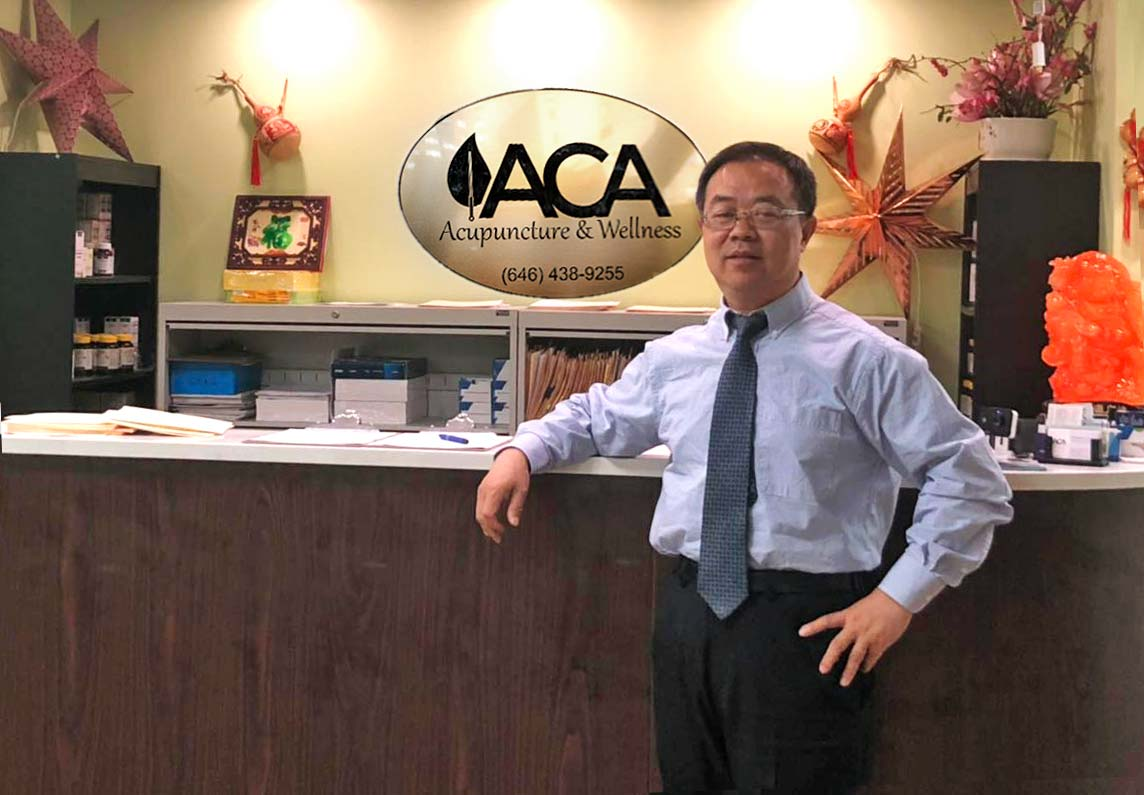 ACA Acupuncture and Wellness President and CEO Dr. Liu
