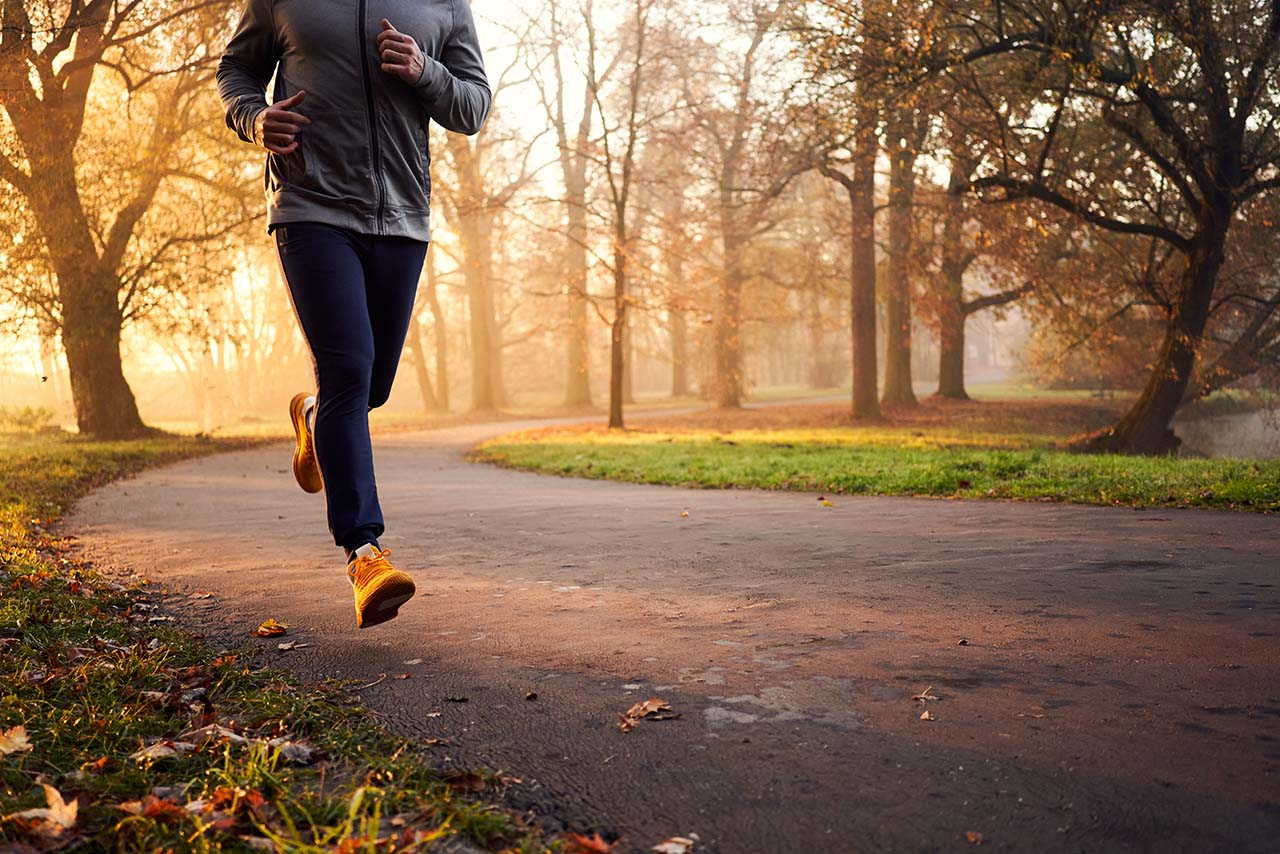 Exercise during Fall to fight immunity